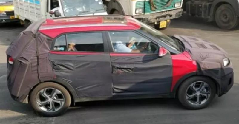 Hyundai Creta Facelift to get sunroof; compact SUV SPIED testing ahead of India launch