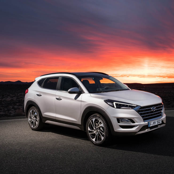 Hyundai Tucson Gets A Mild Makeover Inside And Out
