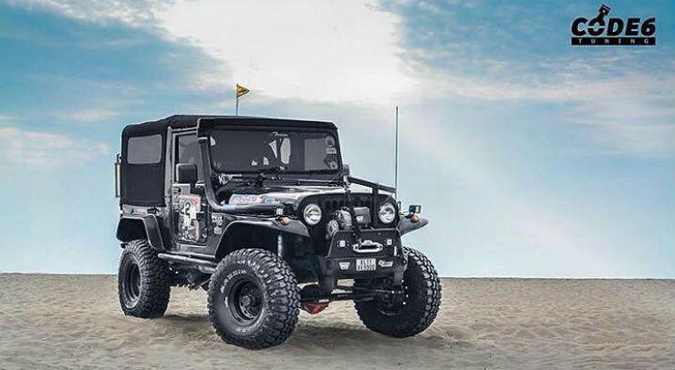 Lift Kits For Jeeps >> 10 gorgeously MODIFIED 'Jeeps' of India: Mahindra Thar to Jeep Wrangler