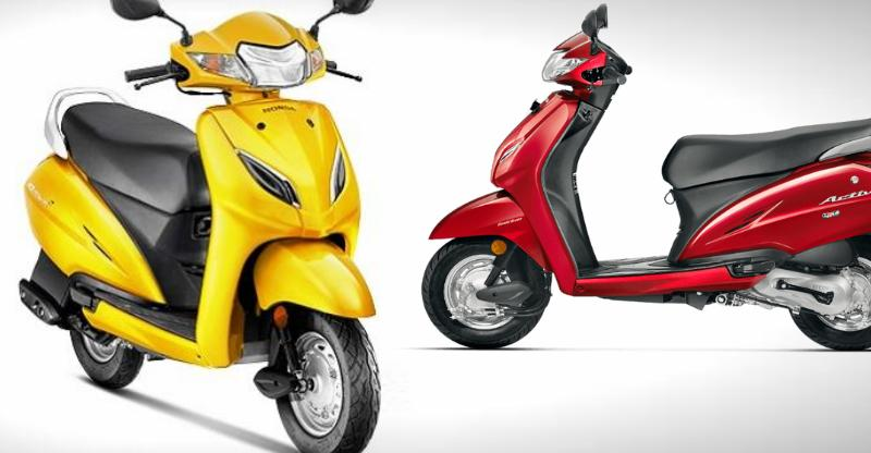 Honda Activa continues to be India's best selling two wheeler; Hero Splendor second!