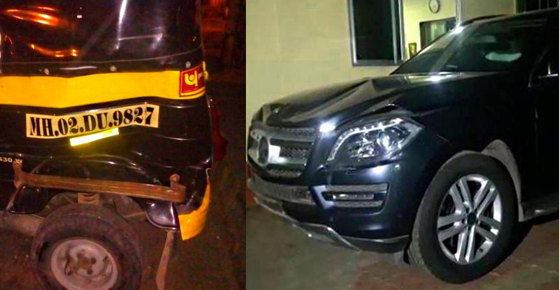 Bollywood singer Aditya Narayan arrested after his Mercedes-Benz GL-Class SUV hits autorickshaw
