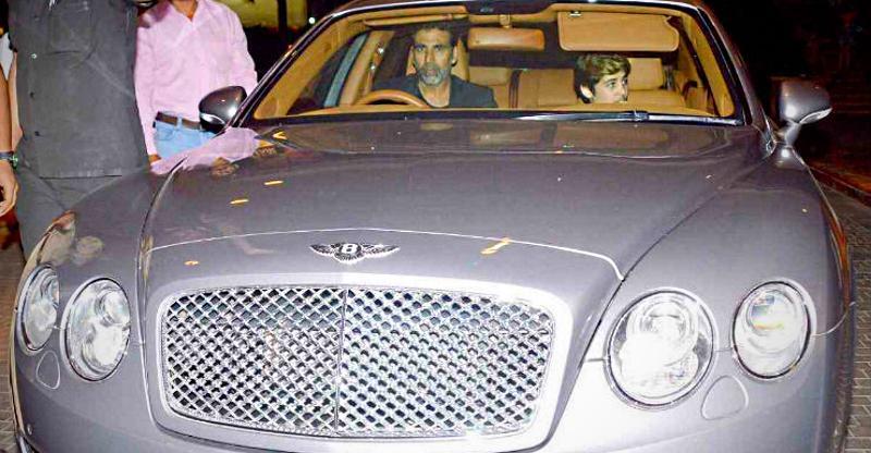 Akshay Kumar to Akash Ambani, & their Bentley super luxury cars