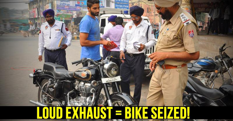 Bikers beware! Chandigarh police to SEIZE your motorcycle for 'loud exhausts'