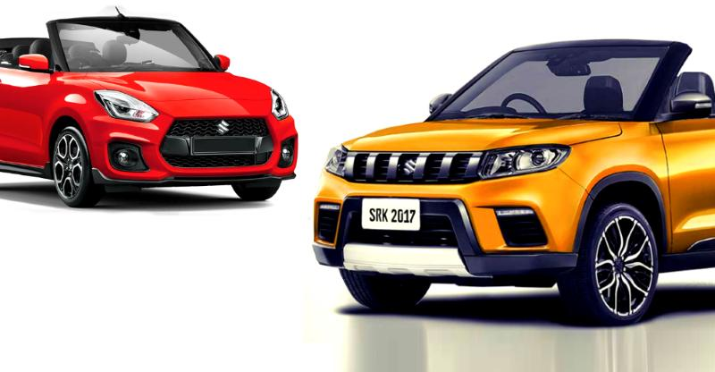 10 popular Indian cars REIMAGINED as convertibles: Maruti Swift & Brezza to Renault Kwid & Civic