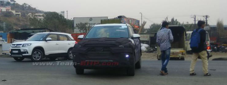 Hyundai Creta facelift's fresh spy pictures reveal more details about the SUV