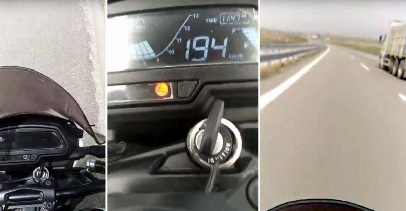 Bajaj Dominar motorcycle doing 194 KPH: We explain how this is possible.