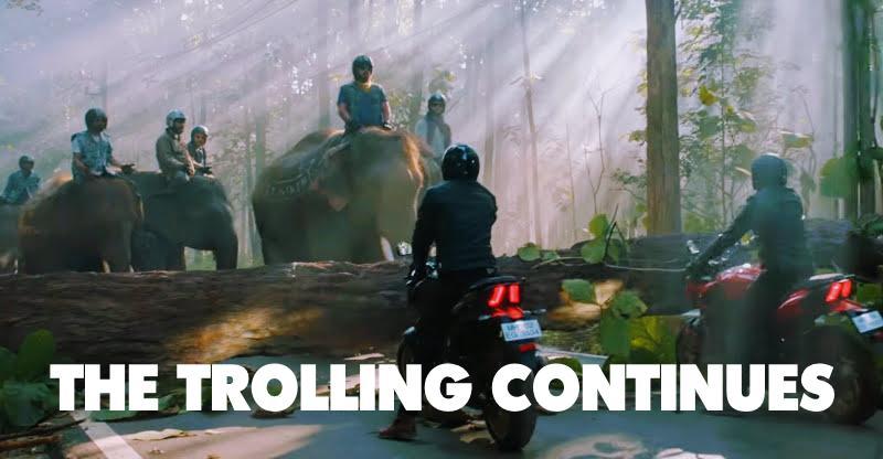 Bajaj Dominar trolls Royal Enfield again: Fifth 'Haathi mat paalo' video released