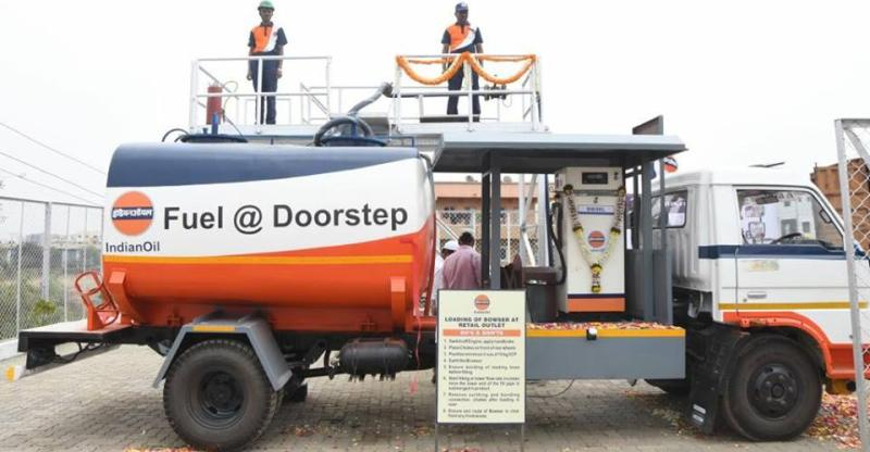 Indian Oil Corporation starts home delivery of diesel in India