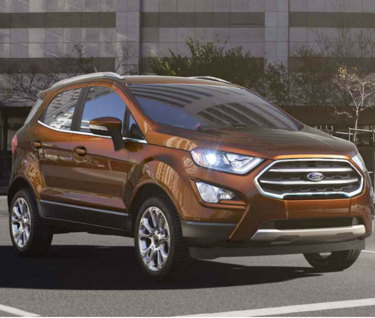 Ford EcoSport Titanium Plus Petrol Variant With Manual Transmission Launched In India