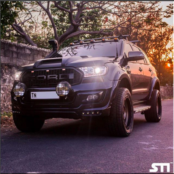 Modified Ford Endeavour Suvs Here Are 5 Badass Examples From Around