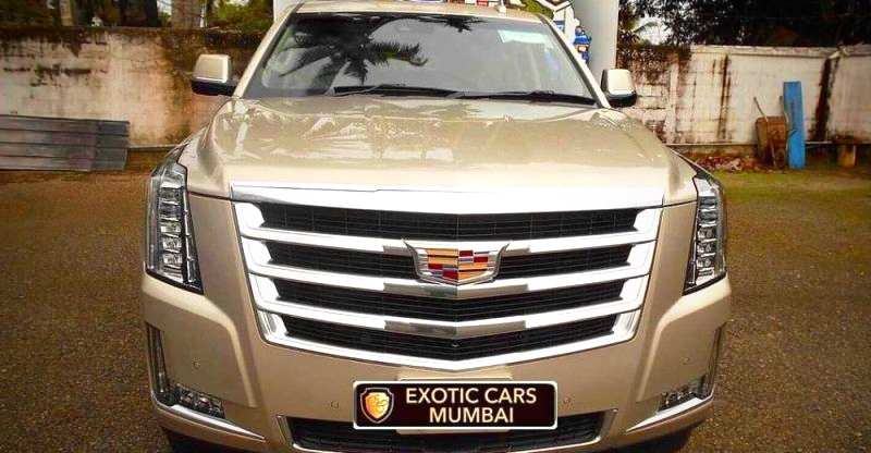 AWESOME new exotic cars & SUVs of India; Cadillac Escalade to Tesla Model X