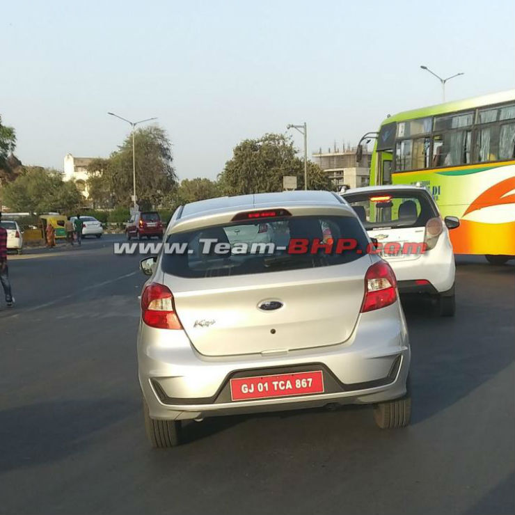Upcoming 2018 Ford Figo spied in India before launch; To rival new Maruti Swift