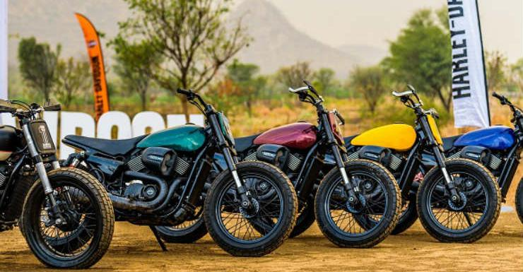 Harley-Davidson launches first ever flat track racing in India
