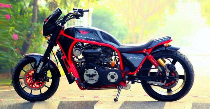 5 hottest home-made Indian motorcycles with 'car-engines'!