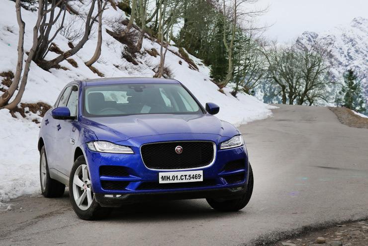 Jaguar F-Pace 2.0 Diesel Prestige in Cartoq's review
