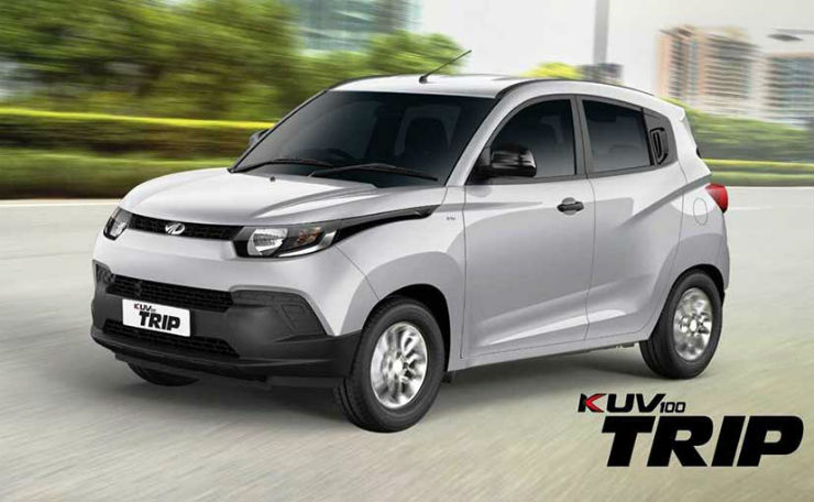 Mahindra KUV100 'TRIP' micro SUV launched in India; To target Ola, Uber