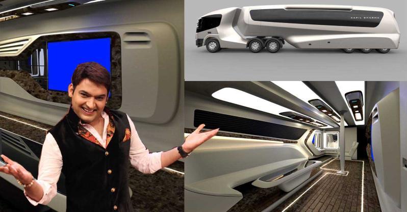 Kapil Sharma's new vanity van is a '5-Star hotel room on wheels'