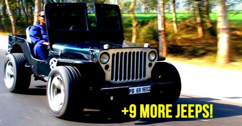 10 gorgeously MODIFIED 'Jeeps' of India: Mahindra Thar to Jeep Wrangler