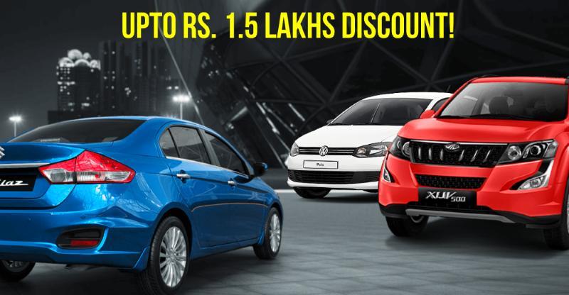Upto Rs. 1.5 lakh Navratri discounts on cars & SUVs: Maruti Ciaz to Mahindra XUV500