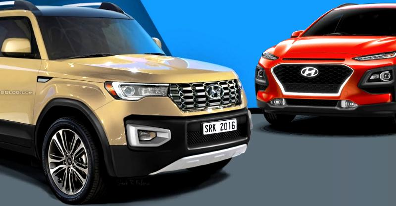 9 new Hyundai cars & SUVs for India revealed; Santro to all-new Creta!