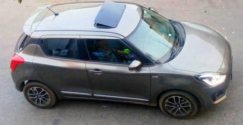 New 2018 Maruti Suzuki Swift with sunroof: Here's how it can be done!