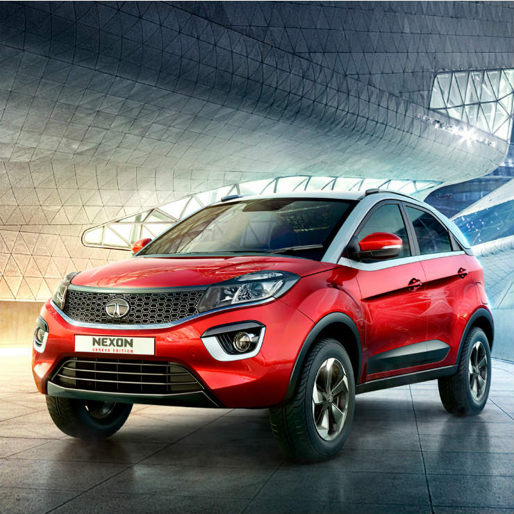 Tata Motors launches Nexon variant at ₹ 7.99 lakh