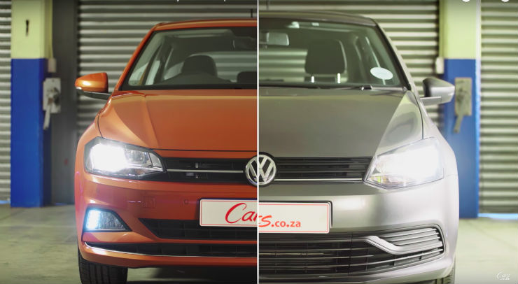 New Volkswagen Polo (2018 model) vs 2017 Polo: What has changed? [VIDEO]