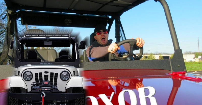 'Honest' review of new Mahindra Roxor from US: 'Awesome li'l machine for doing Jeep stuff!'