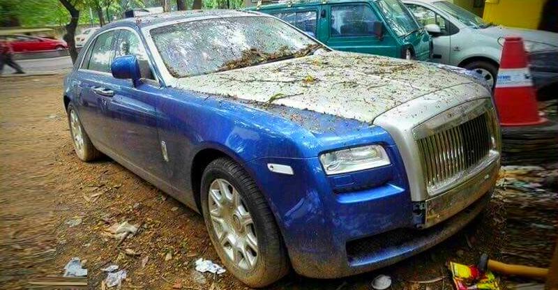 MISTREATED Rolls Royces, Bentleys & Mercedes Benzes of India!