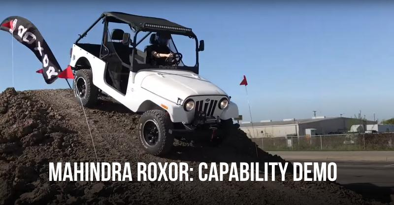 Mahindra Thar-based Roxor off-roader: First proper drive reviews are here [Video]