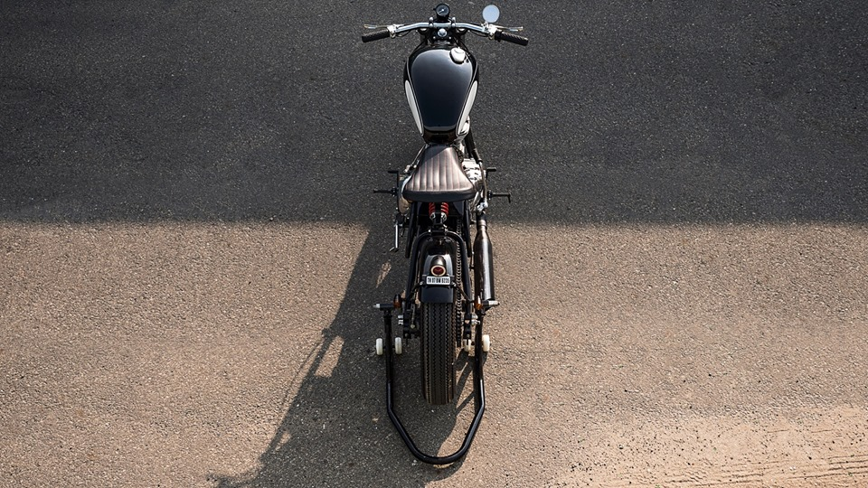 Modified Royal Enfield Classic 500