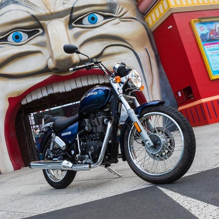 India-made Royal Enfield Thunderbird cruiser motorcycle becomes the Rumbler for Australia
