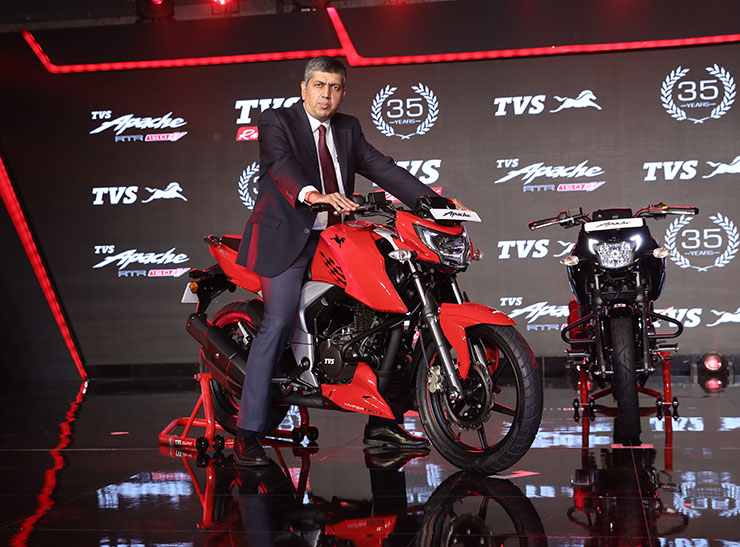 TVS Apache RTR 160 4V - Photo