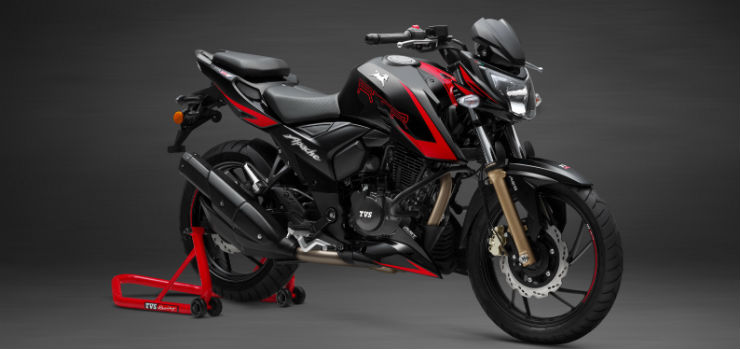 New TVS Apache RTR 200 4V Race Edition with slipper clutch launched