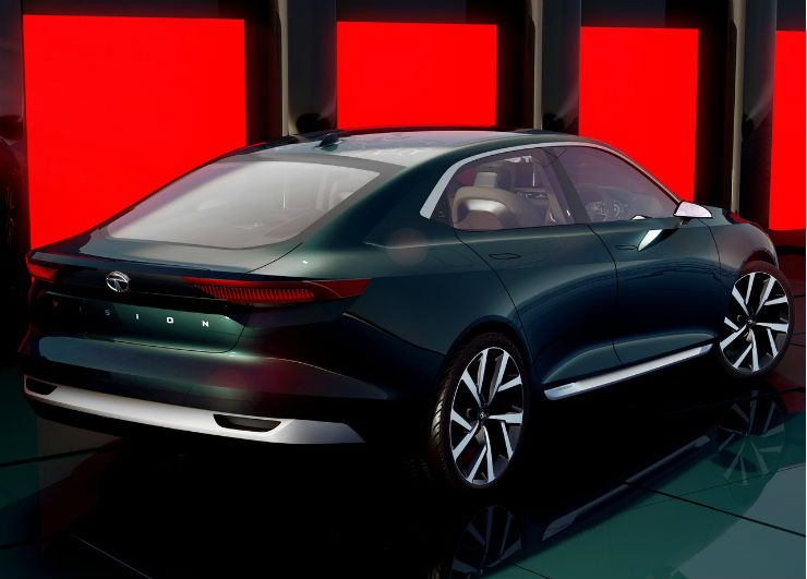 Tata evision concept unseen pictures for Tata motors future cars