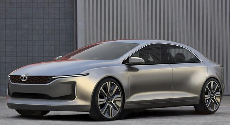 Tata Evision Sedan Concept Teaser Video Fresh Images