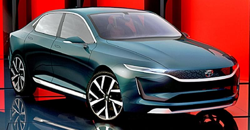 Tata evision sedan concept unveiled at the geneva motor show for Modern motors used cars