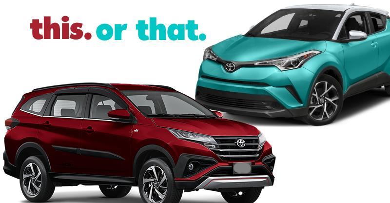 Which SUV should Toyota launch in India: Rush or CH-R?