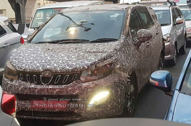 Mahindra U321's new features revealed before launch in spy pictures