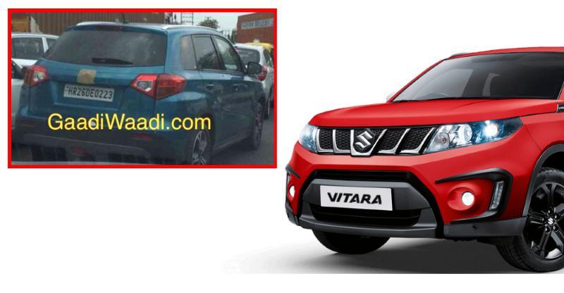 Maruti Vitara SUV spotted testing in India; Jeep Compass-Mahindra XUV500 rival