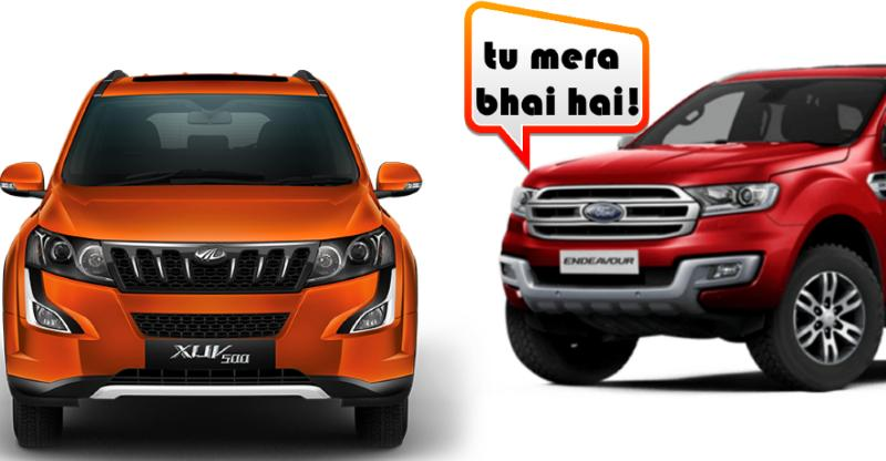 Mahindra XUV500 may become a Ford soon: Here is how
