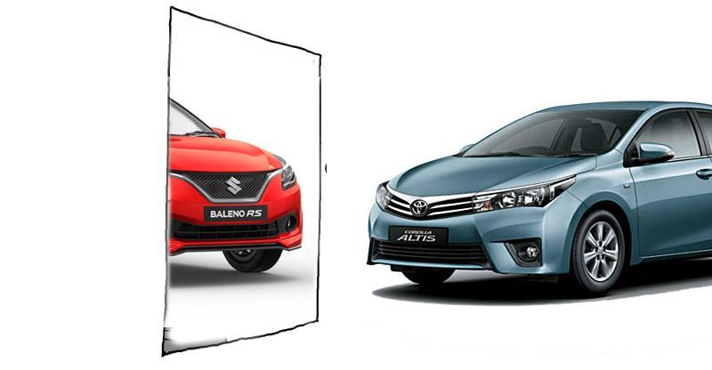 Toyota Baleno, Vitara & Maruti Suzuki Corolla Altis: Yes, it's happening!