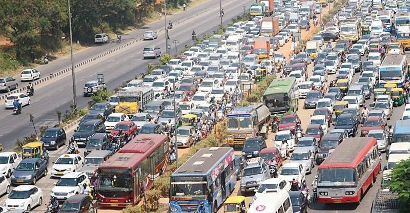Only 350 of 73 lakh vehicles in Bangalore run on CNG