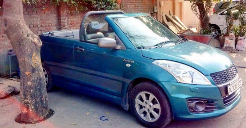 Normal cars, modified into convertibles: Maruti Swift to 800!