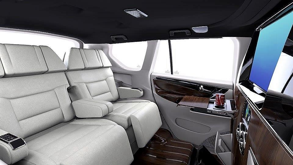dc lounge toyota innova crysta interior rear seat