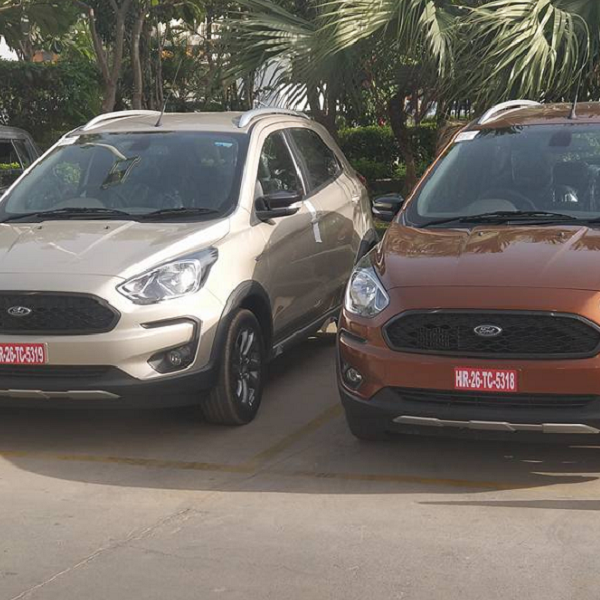 ford figo freestyle images