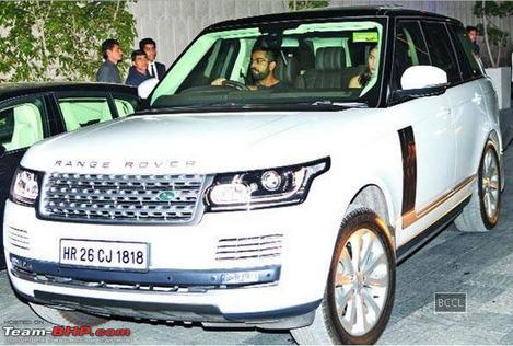 Who Owns Range Rover >> Virat Kohli to Dhoni, top Indian cricketers with their big ...
