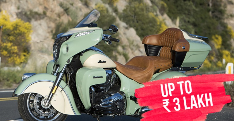 Indian Motorcycle range get cheaper by up to ₹ 3 Lakh