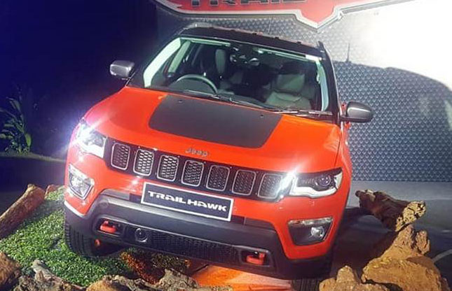 Jeep Compass Trailhawk SUV ALMOST here; Private images & details now public