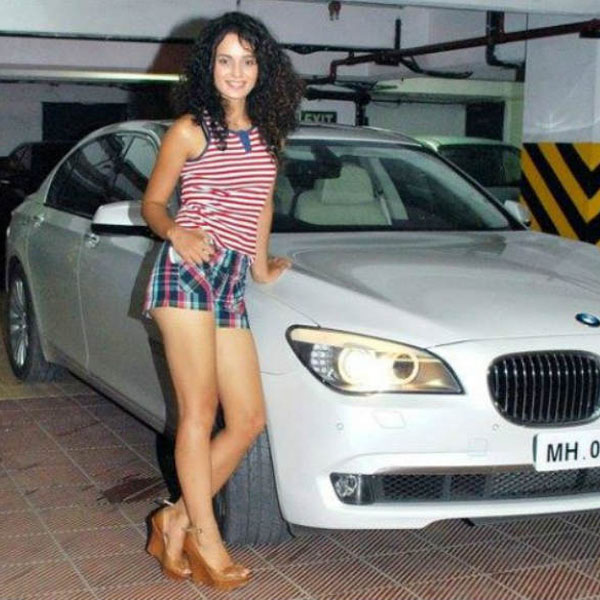Image result for kangana with car